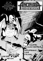 Anonima Gidierre n°34 - Novembre/Dicembre 2001 - Disegno di Lys