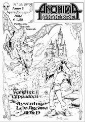 Anonima Gidierre n°36 - Aprile/Giugno 2002 - Disegno di Balder