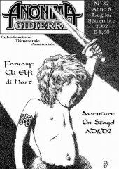 Anonima Gidierre n°37 - Luglio/Settembre 2002 - Disegno di Lys