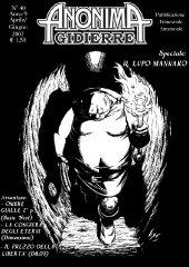 Anonima Gidierre n°40 - Aprile/Giugno 2003 - Disegno di Lys