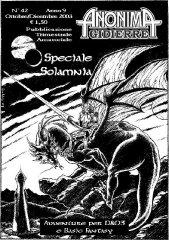Anonima Gidierre n°42 - Ottobre/Dicembre 2003 - Disegno di Balder
