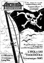 Anonima Gidierre n°43 - Gennaio/Marzo 2004 - Disegno di Lys