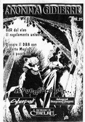 Anonima Gidierre n°25 - Gennaio/Febbraio 2000 - Disegno di Lys