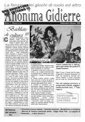 Anonima Gidierre n°3 – Settembre/Ottobre 1995