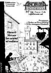 Anonima Gidierre n°53 - Luglio/Settembre 2006 - Disegno di Balder