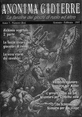Anonima Gidierre n°10 – Gennaio/Febbraio 1997