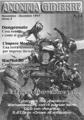 Anonima Gidierre n°14 – Novembre/Dicembre 1997
