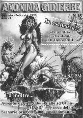 Anonima Gidierre n°15 – Gennaio/Febbraio 1998