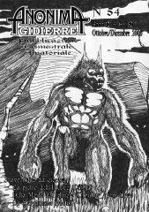 Anonima Gidierre n°54 - Ottobre/Dicembre 2006 - Disegno di Skato