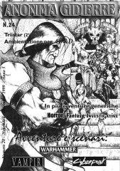 Anonima Gidierre n°24 – Novembre/Dicembre 1999