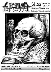 Anonima Gidierre n°55 - Gennaio/Marzo 2007 - Disegno di Giorgio Borroni