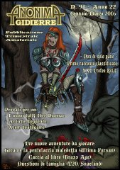 Anonima Gidierre n°91 - Gennaio/Marzo 2016