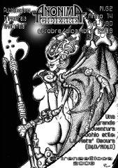 Anonima Gidierre n°62 - Ottobre/Dicembre 2008 - Disegno di Giorgio Borroni