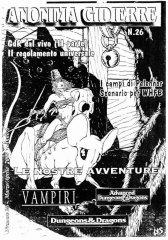 Anonima Gidierre n°26 - Marzo/Aprile 2000 - Disegno di Lys