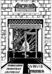 Anonima Gidierre n°66 - Ottobre/Dicembre 2009 - Disegno di Max