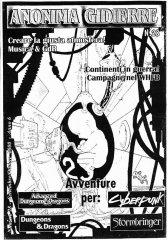 Anonima Gidierre n°28 - Settembre/Ottobre 2000 - Disegno di Lys
