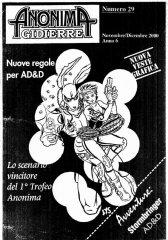 Anonima Gidierre n°29 - Novembre/Dicembre 2000 - Disegno di Lys
