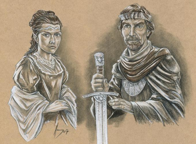 Disegno tratto da Worlds of Empyrea